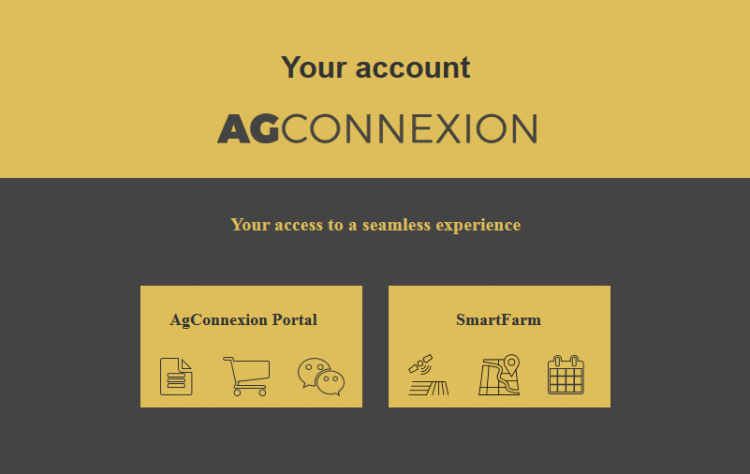 Your account AgConnexion